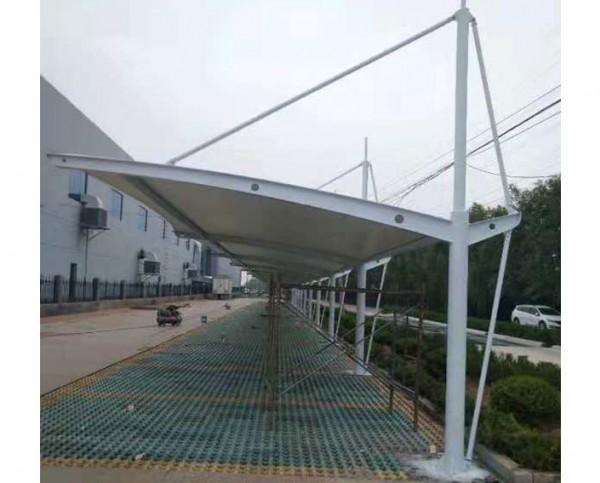 安徽省太和县玉华造纸厂膜结构车棚