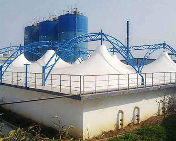 宁波象山污水处理厂污水池加盖