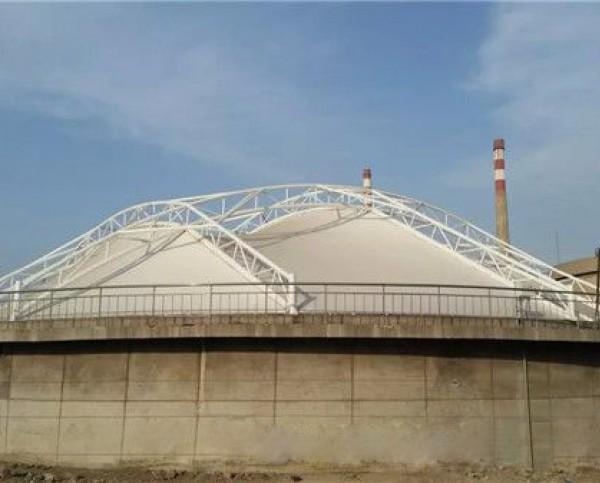 东营市河口油污池膜结构工程