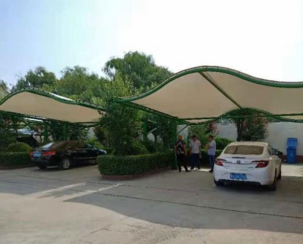 东营市大王镇膜结构车棚
