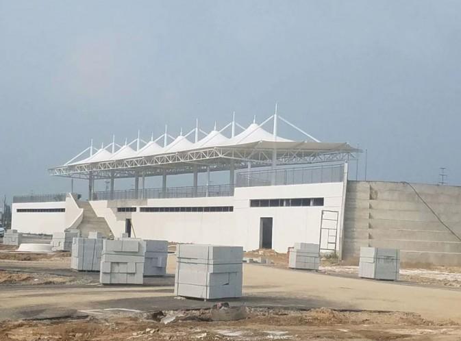 新疆阿拉尔市第一中学膜结构看台
